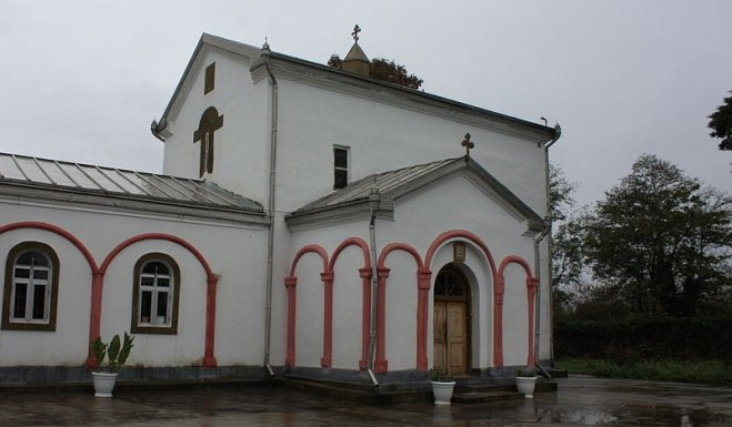 Elyr (Ilori) church of St. George