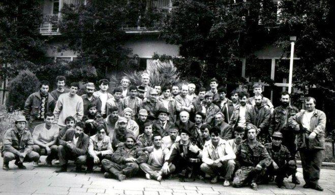Circassian Volunteers in Abkhazia