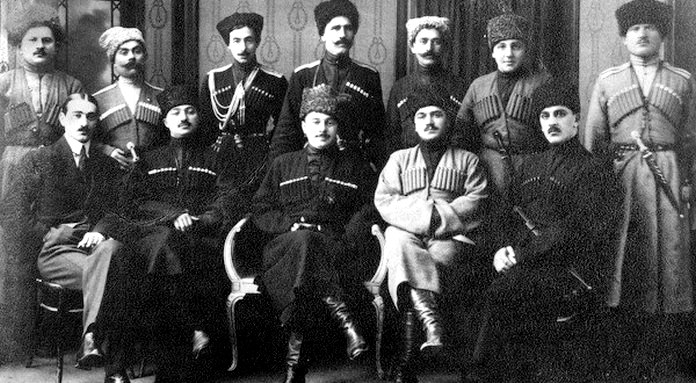 Leaders of the Mountainous Republic of the Northern Caucasus