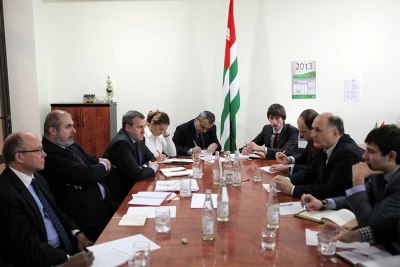 On Geneva Discussions, Abkhazia