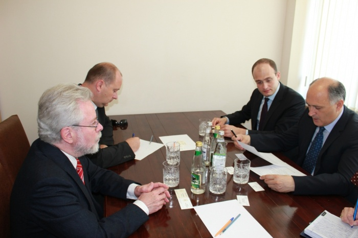 Foreign Minister Viacheslav Chirikba met with the Ambassador of the Czech Republic to Georgia