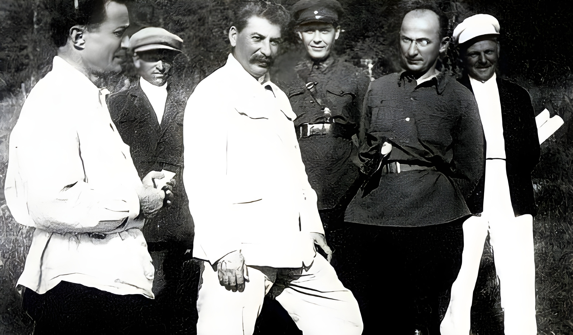 Stalin with Lavrenti Beria,1936