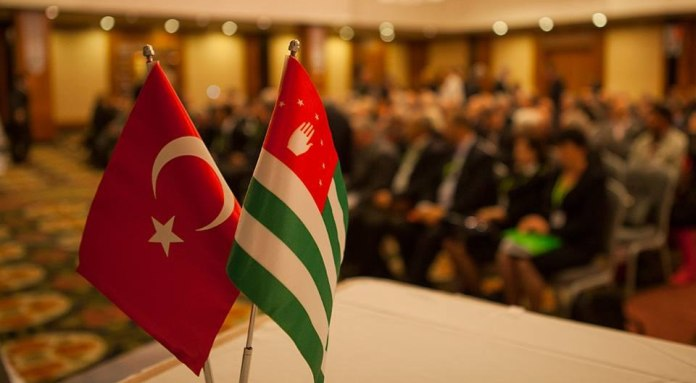 Turkey Abkhazia Flags
