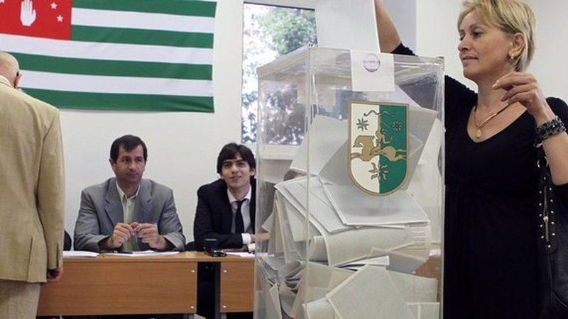 Repeat presidential elections in Abkhazia