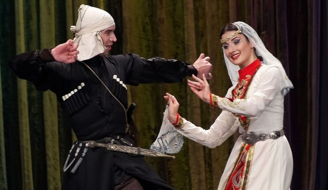 Abkhazia's State Folk-Dance Group Caucasus