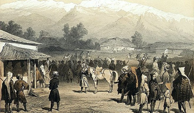 Western travellers to the Caucasus