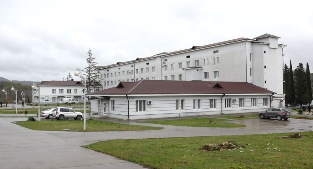 Gudauta City Hospital, Abkhazia