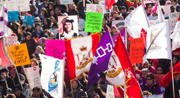 Idle No More Protestors Take to the Streets in Global Day of Action