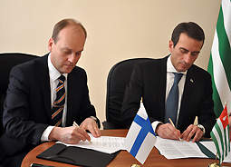 Abkhazia and the Finnish Construction Company Honka Have Signed a Distribution Agreement