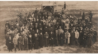 Delegates of the First Congress of the Union of the Mountaineers of the North Caucasus and Dagestan. (1917).
