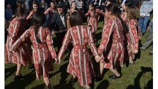 Amshen Armenian harvest festival in Abkhazia