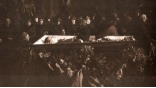 The funeral of Nestor Lakoba