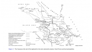 The Caucasus at the end of the eighteenth to the early nineteenth centuries.