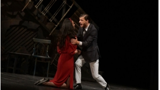 Premiere of the play 'Cylinder' Pin Abkhaz Drama Theatre