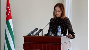 Christina Ozgan, Deputy Prime Minister, Minister of Economy of the Republic of Abkhazia